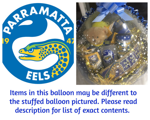 Eels Nrl Stuffed Balloon #01