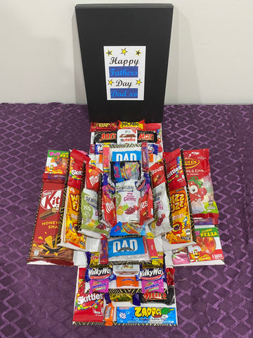 Mixed Fathers Day Explosion Box