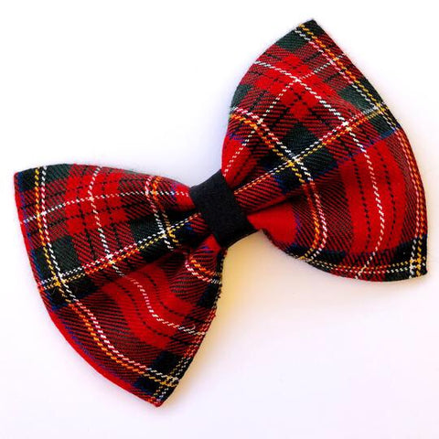 Firey Red Bow Tie