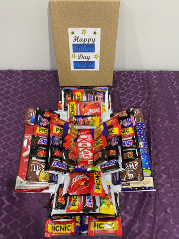 Chocolate Fathers Day Explosion Box