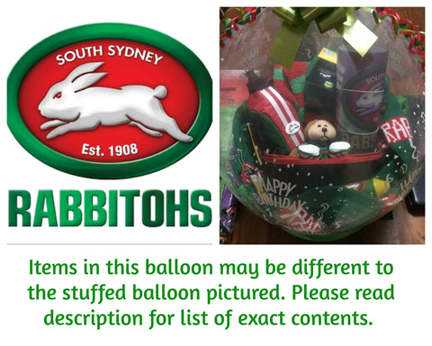 Rabbitohs Stuffed Balloon #02