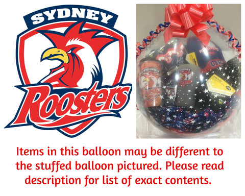 Roosters Nrl Stuffed Balloon #01