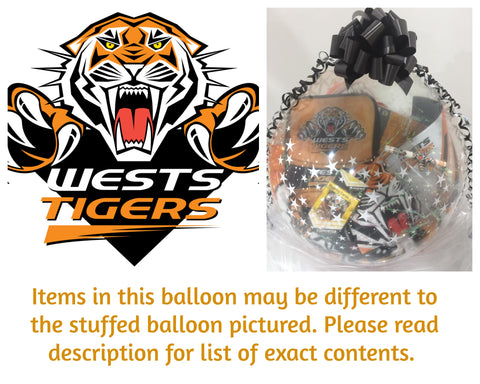 Tigers Nrl Stuffed Balloon #01