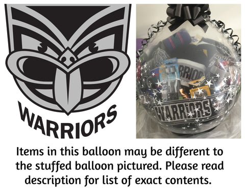 Warriors Nrl Stuffed Balloon #01
