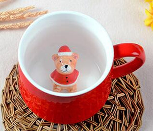 3D Creative Christmas Coffee Mug