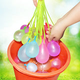 Filling Water Balloons
