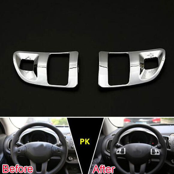 Steering Wheel Button Control Trim Cover