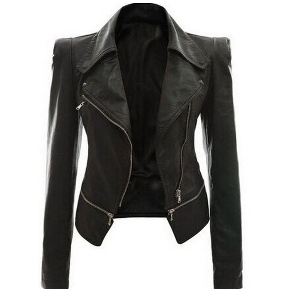 HOT Women leather Jacket