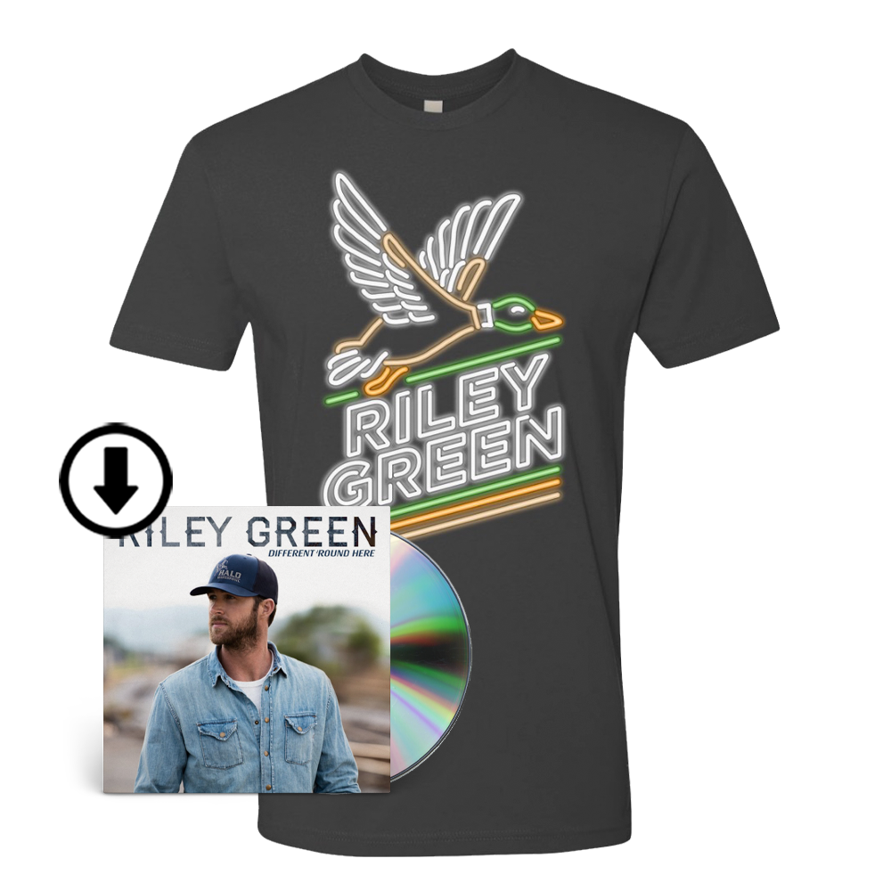 Neon Duck Tee & Different 'Round Here Digital Album