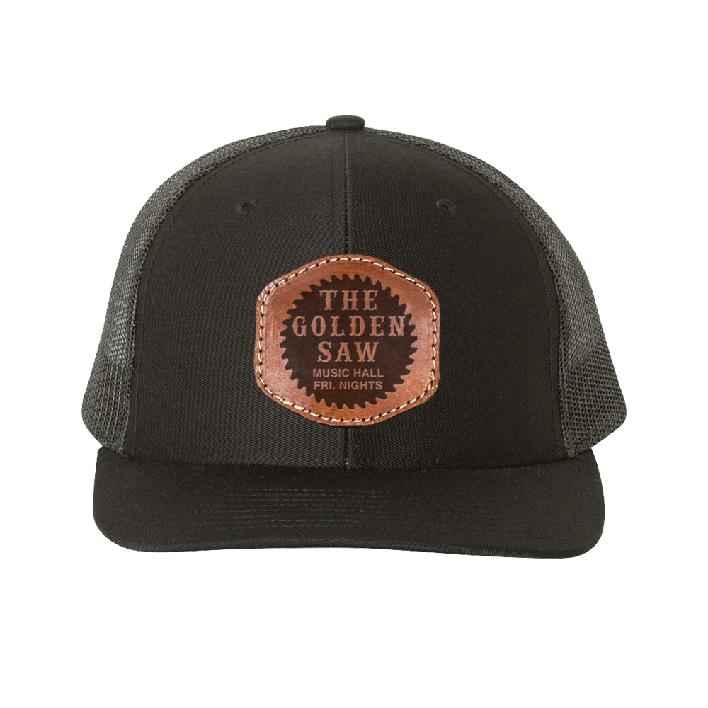 The Golden Saw Hat - Black