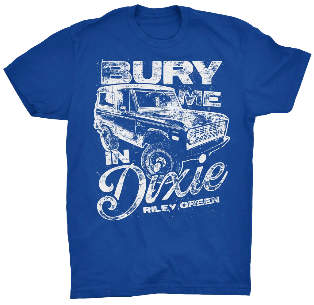 Bury Me Dixie Blue T-shirt