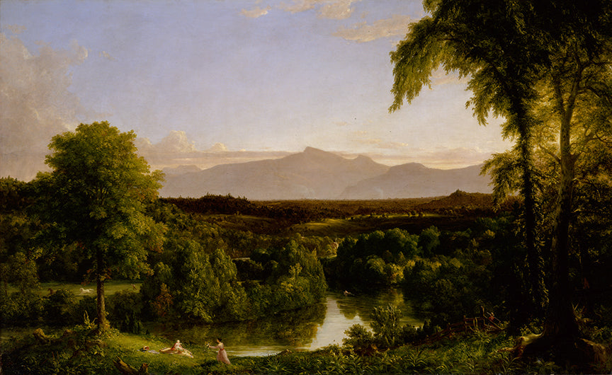 View on the Catskill—Early Autumn 11x14 Print