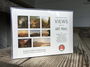 Views from the Art Trail Notecard Set