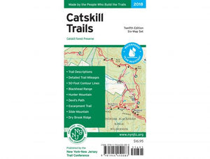 Catskill Trails Map Set