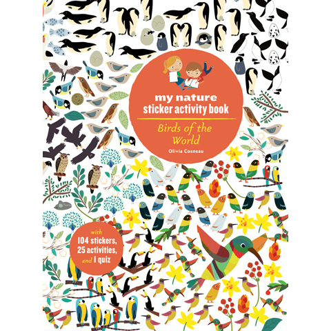 Birds of the World Sticker Activity Book