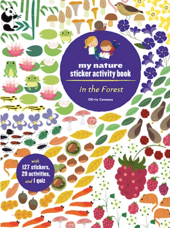In the Forest Sticker Activity Book