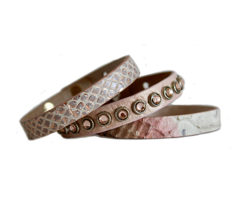 light pink cuff bundle