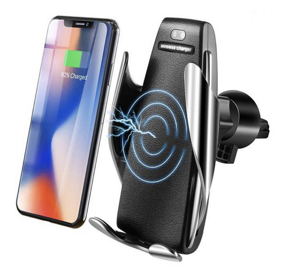 SensorCharge - Luxury Automatic Phone Holder/Charger for Car