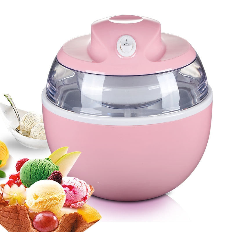 Ice Cream Maker - At Home Ice Cream Maker In 15 Minutes!