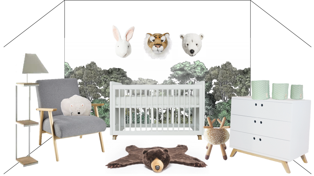 room inspiration forest animals