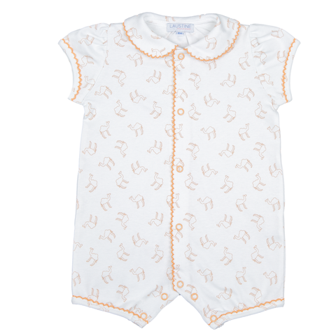 camille - biscuit camel print
