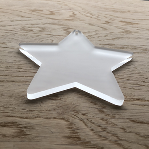 Acrylic Star Blanks