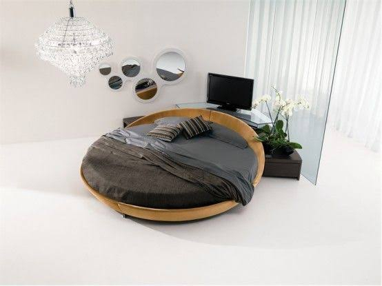 Round Rotating Bed - $20000 50% off $9990