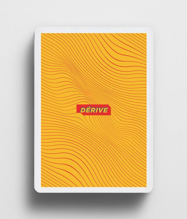 Derive Honey Edition Playing Cards | Cardistry Touch | Deckita Decks UK