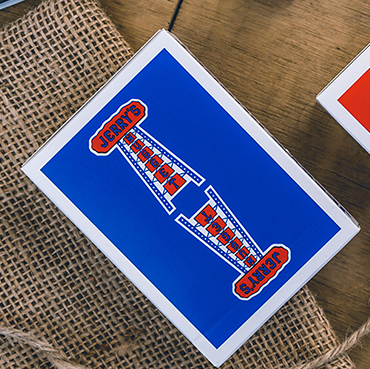 Jerry's Nugget Vintage feel - Blue Playing Cards | EPCC | Deckita Decks UK