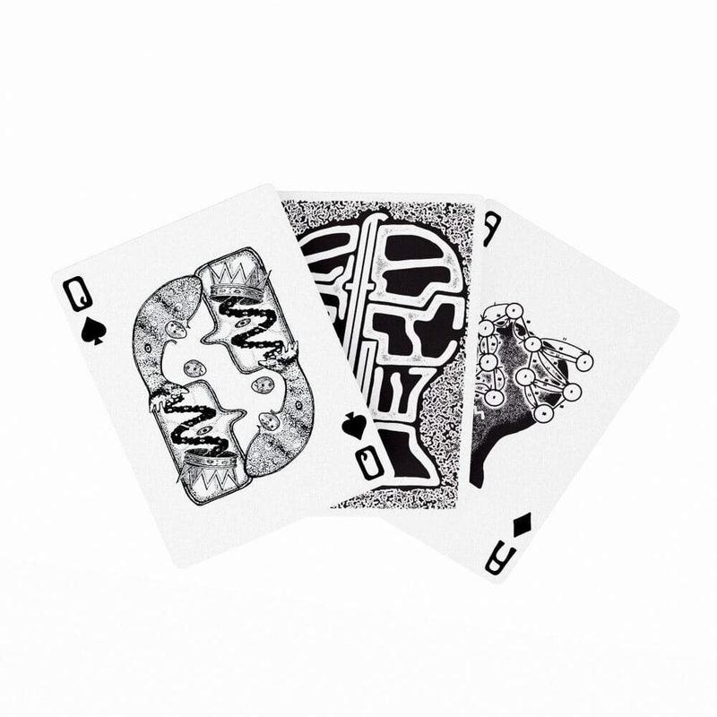 Braindead Fontaine - Special Edition Playing Cards | Fontaine Cards | Deckita Decks