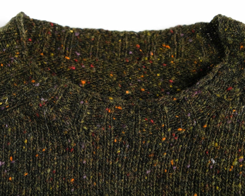 Donegal Sweater in Moss