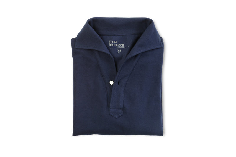 One-Piece Collar Polo