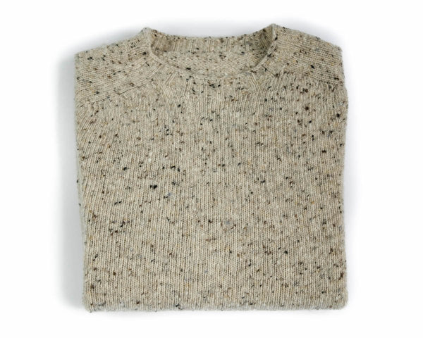 Donegal Sweater in Sandstone