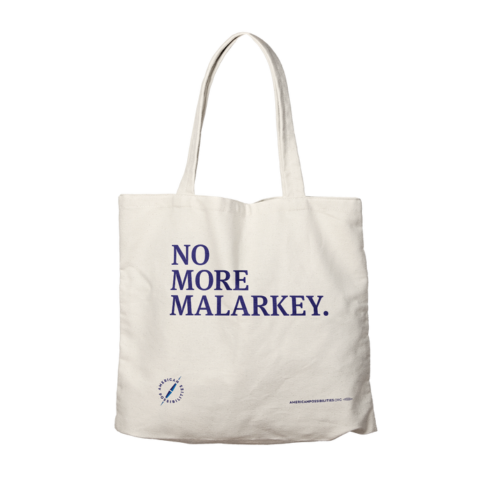Malarkey Tote Bag