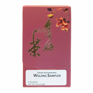 Oolong tea bags sampler