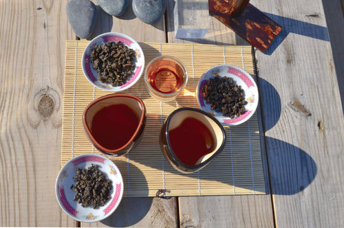 Tung Ting oolong tea - master artisan roasts