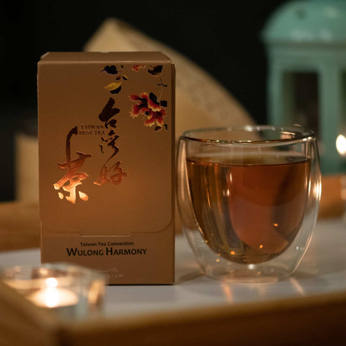 Gift - Oolong Harmony tea bags - Blend of Tung Ting roast and High Mountain fragrance