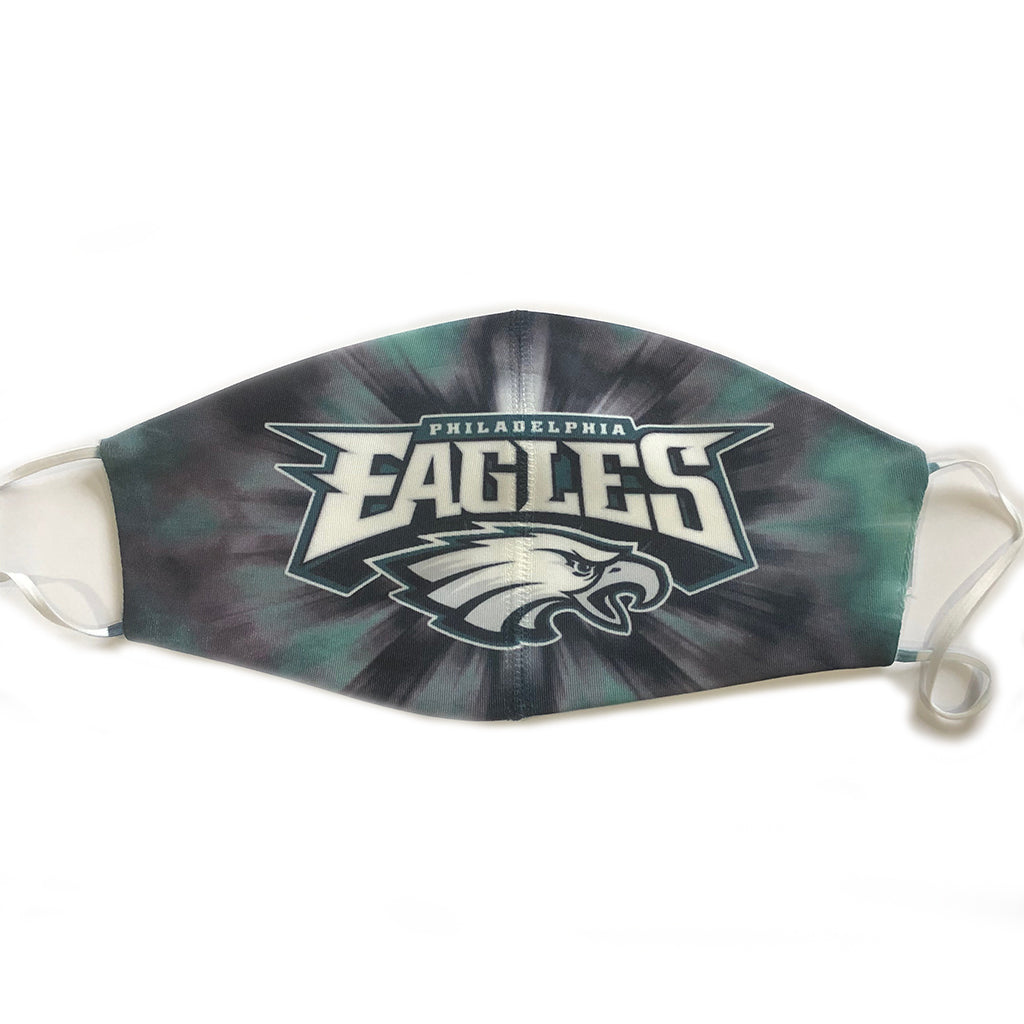Eagles Tie Dye Mask - Down 2 Earth