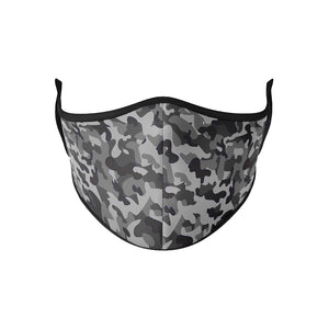 Grey Camo Mask - Down 2 Earth