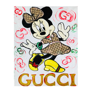 Gucci Minnie Painting - Down 2 Earth