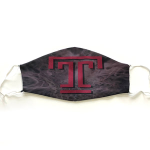 Temple University Mask - Down 2 Earth