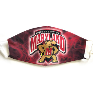 University of Maryland Mask - Down 2 Earth