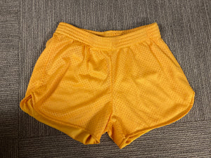 Gold Mesh Shorts - Down 2 Earth