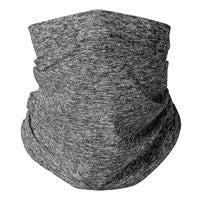 Heather Grey Gaiter Mask (teens,woman,small adults) (men's large)