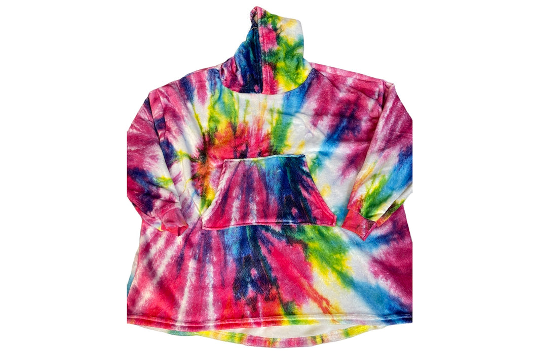 The Chill (Oversized) Bright Tie Dye