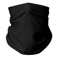 Carbon Fiber Gaiter Mask (Men's Large) (teens,woman,small adult)