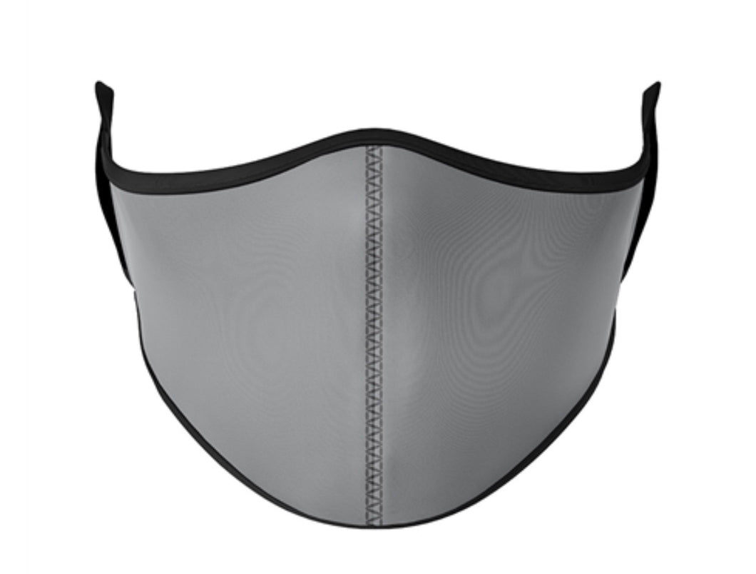 Grey Adjustable Face Mask (kids)&(adults)
