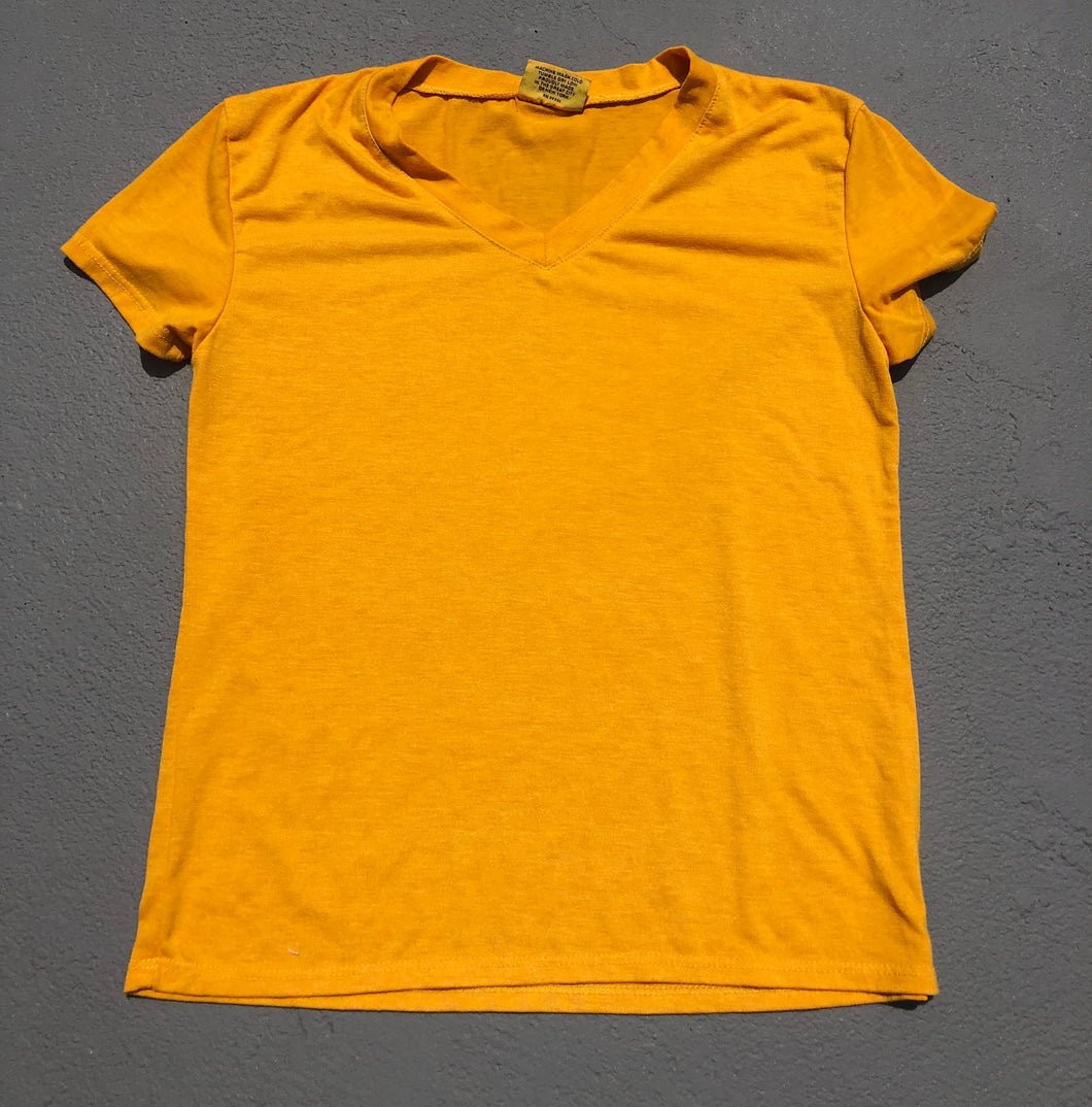 Gold V Neck - Down 2 Earth