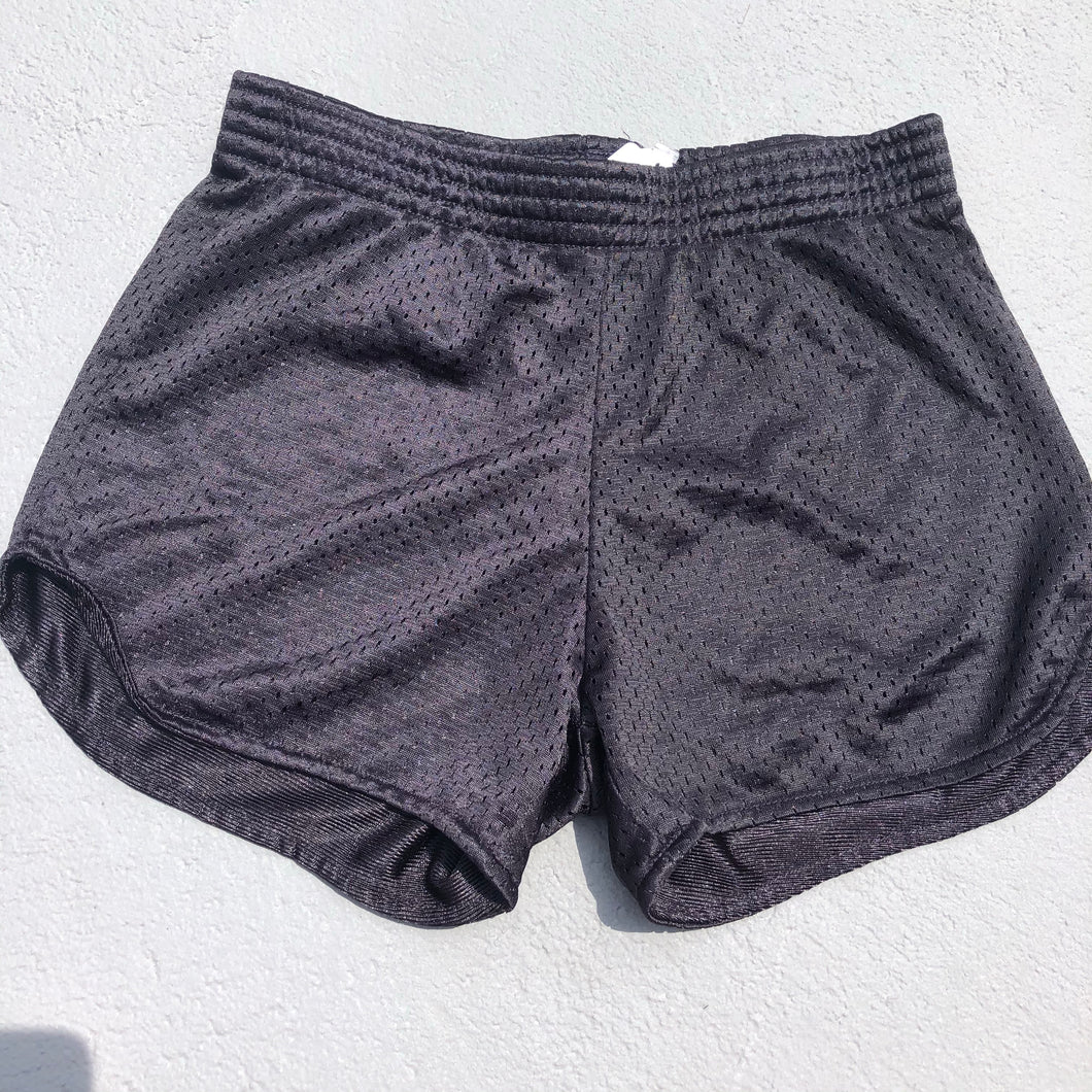 Black Mesh Shorts - Down 2 Earth