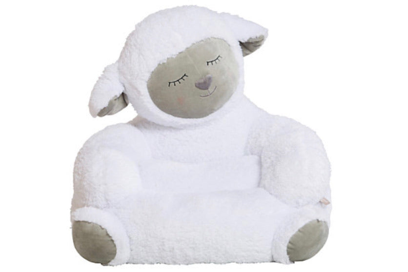 Lamb Plush Chair